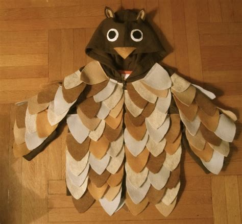 Handmade Owl Costume - 11 best images about owl costume on