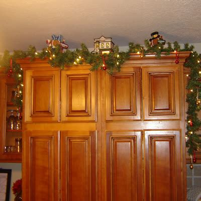christmas decorations for kitchen cabinets decorating top of kitchen cabinets for christmas house