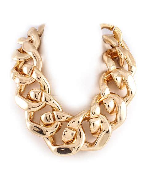 big for jewelry big gold chain necklace statement jewelry 7twentyfour