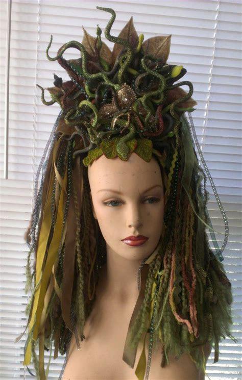 medusa hairstyles halloween medusa headdress 169 2013 dreadful falls usa via facebook