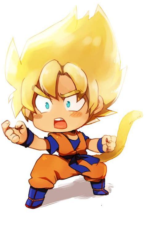imagenes de goku kawai super saiyan chibi goku 3 dbz pinterest sons goku
