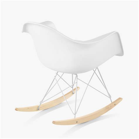 armchair rocker eames molded plastic armchair rocker base by charles ray