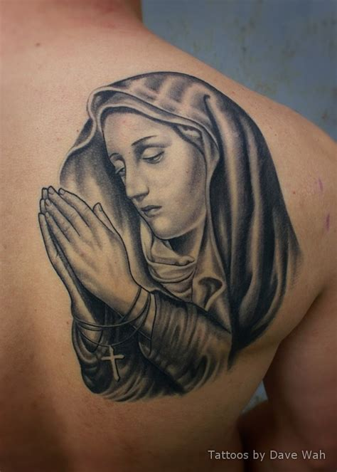 virgin mary back tattoo 13 best images about tatueringar jungfru on