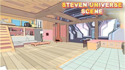 steven universe s room 3d environment assets ben marino environments
