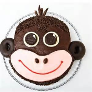 monkey template for cake monkey birthday cake design parenting