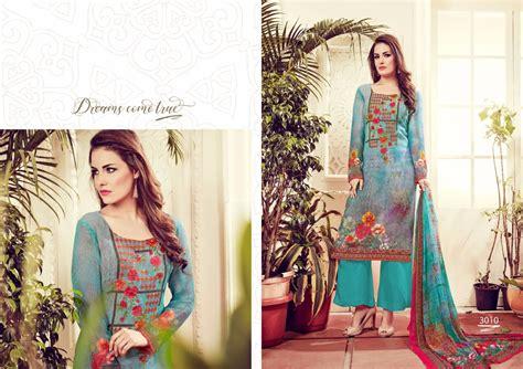 Hasna Set 3 husna ara vol 3 georgette dress material ethnic export