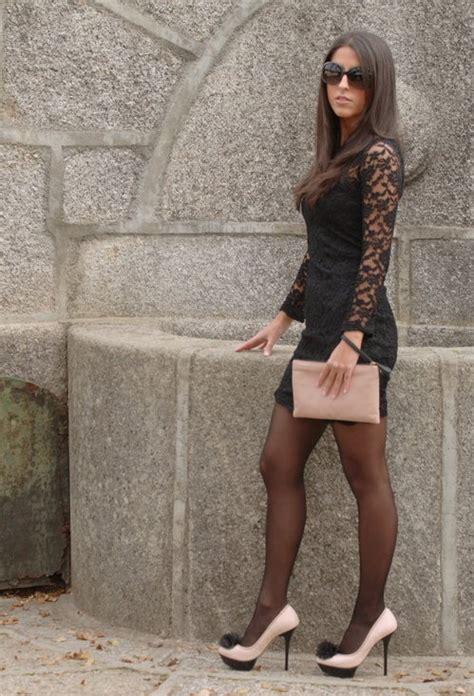 Jaket Friday Killer Micro Hd Black vestido encaje ax ax in dresses bershka in