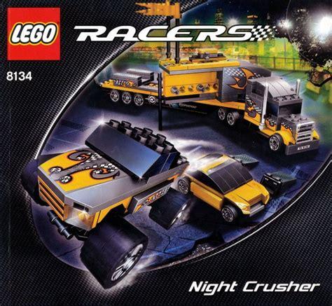 lego racers tutorial 8134 1 night crusher brickset lego set guide and database