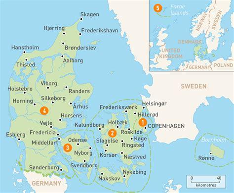 Finder Denmark Map Of Denmark Denmark Regions Guides Guides