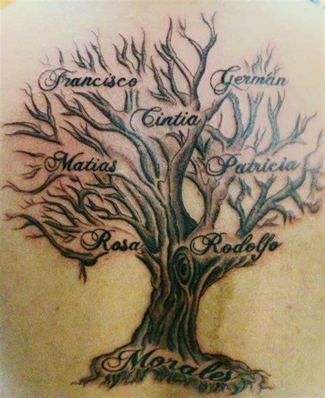 imajenes de tatuajes de arbol genealogico bellos tatuajes de 193 rboles con mucho significado