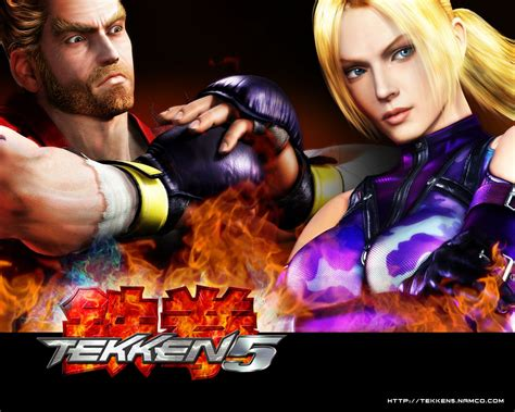 game wallpaper tekken 5 tournament free tekken 5 wallpaper gallery best game