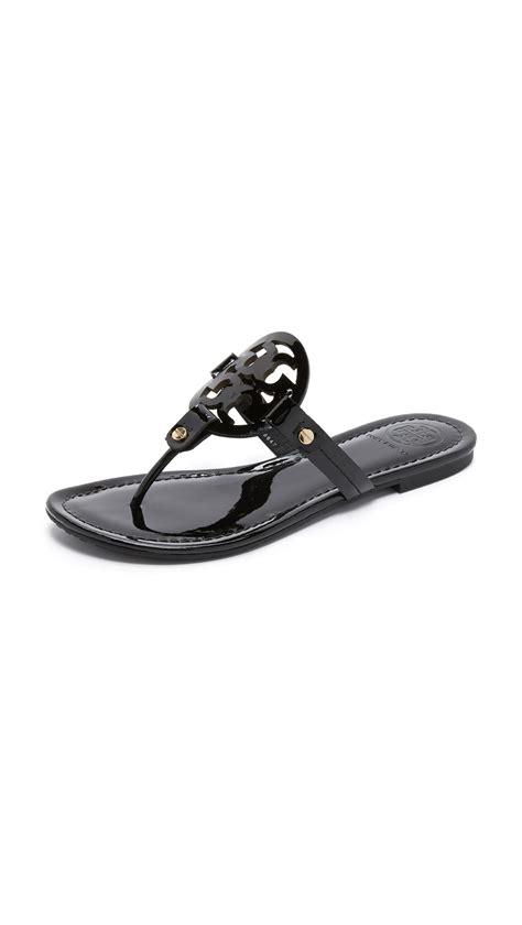 black miller sandal burch miller sandals in black save 2 lyst