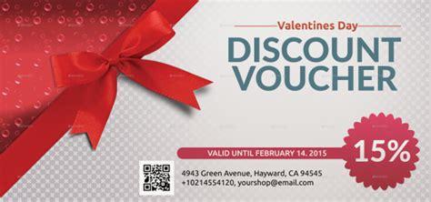 discount holiday vouchers voucher design template free premium templates