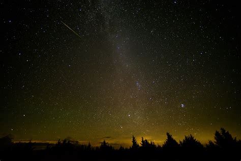 perseid meteor shower 2016 from west virginia nasa