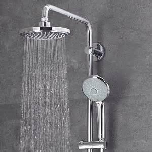 dusche hansgrohe ᐅ regenduschen die sch 246 nsten duschsysteme grohe