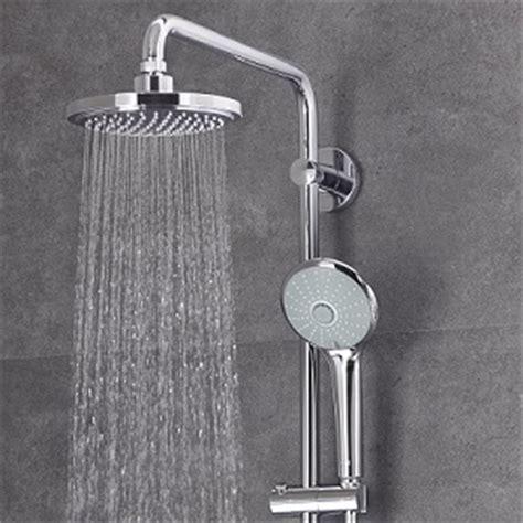 grohe doccia ᐅ regenduschen die sch 246 nsten duschsysteme grohe