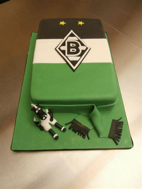 Borussia M 246 Nchengladbach Fan Torte Zur Silvester