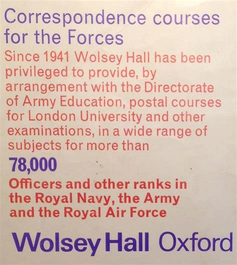 Correspondence Mba From Oxford by Distance Learning College Studying Wolsey Oxford