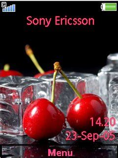 free download themes for cherry mobile w20 download cherry pop by liina sony ericsson theme mobile