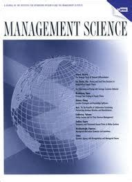 Management Science Vs Mba by Archives For 1999 Articles Co Creation
