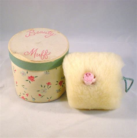 Vintage Puff vintage lambswool puff with original box from trescharmante on ruby