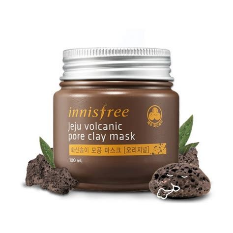 Volcanic Pore Clay Mask innisfree jeju volcanic pore clay mask