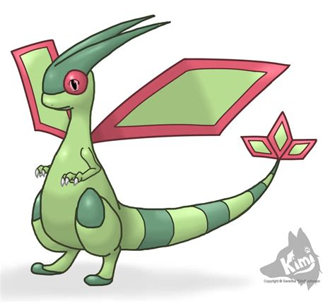 how to a timid timid flygon by kimi133 on deviantart