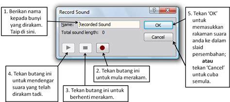 format audio untuk powerpoint my assignments menambah audio pada powerpoint