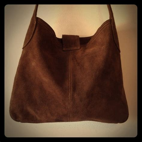 C M B 24 C gap bags brown suede bag like new condition poshmark