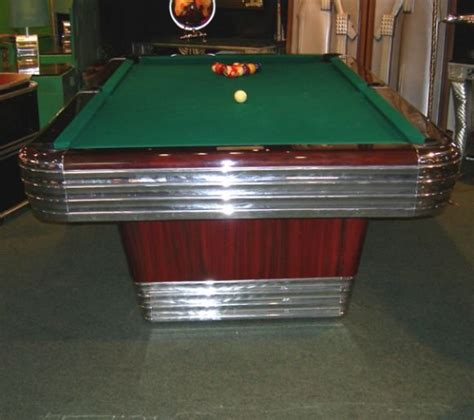 Brunswick Centennial Pool Table by Deco Brunswick Centennial Pool Table At 1stdibs