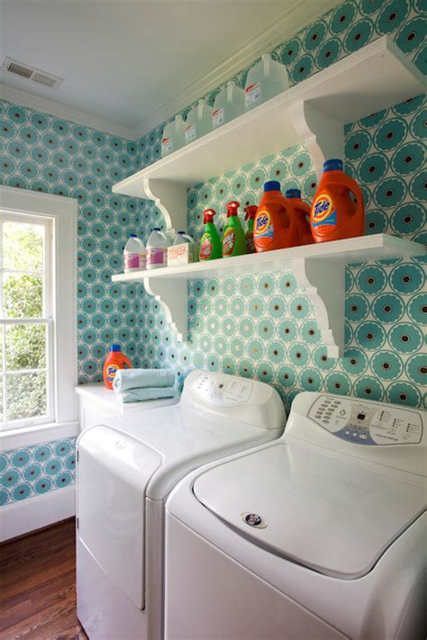 Shelves Over Washer And Dryer Vintage Laundry Room Laundry Room Wall Shelves