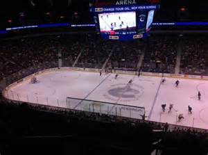 rogers arena section 307 row 12 seat 1 vancouver canucks