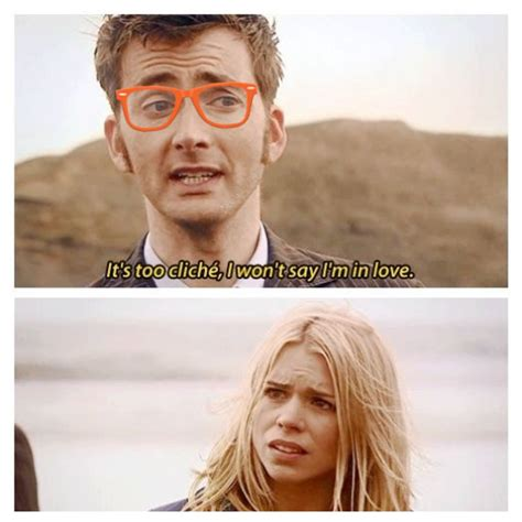 david tennant rose tyler hipster tenth doctor just can t bring himself to admit