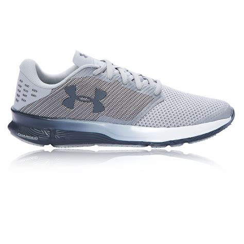 armour sports shoes armour charged reckless mens grey running sports