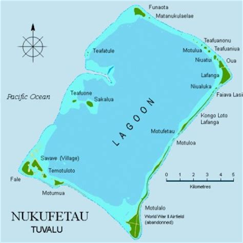 tuvalu on world map tuvalu islands map