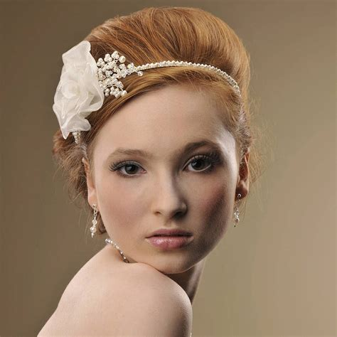 Handmade Headpieces - handmade hermione wedding headpiece by rosie willett