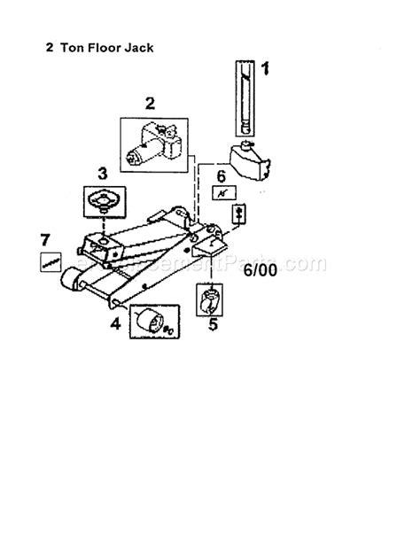 floor l parts diagram allied ton floor parts breakdown high output fxac