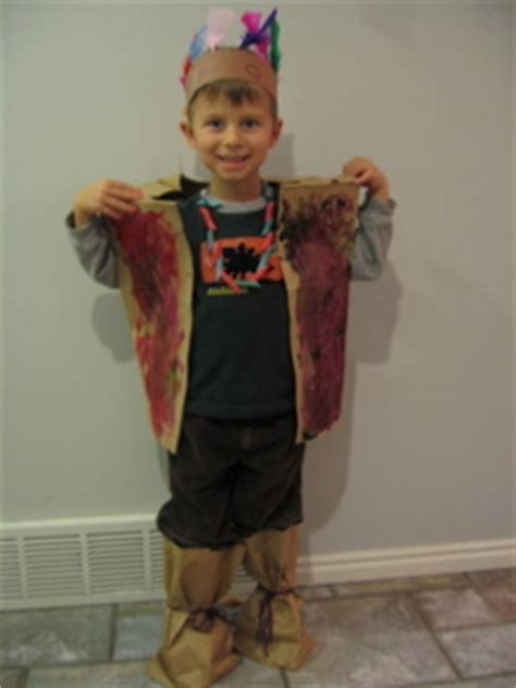 preschool thanksgiving costumes indian vest just one how to make an indian headband for thanksgiving ehow