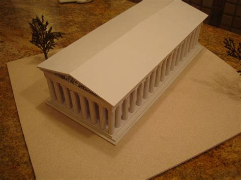 3d model and draws of house in athens irene kastriti the parthenon athens greece model