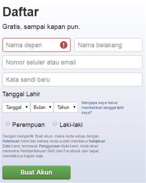 membuat alamat email lewat yahoo daftar akun facebook baru di yahoo bikin facebook baru