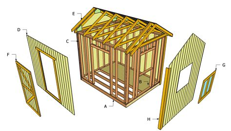 shed building plans shed blueprints free storage shed building plans