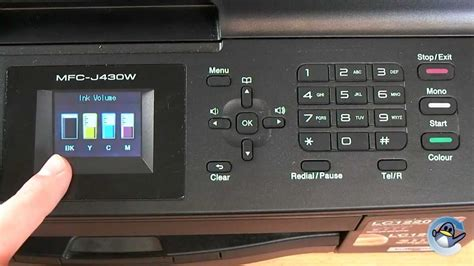 brother mfc j430w ink resetter how to check ink volume on a brother mfc j430w printer