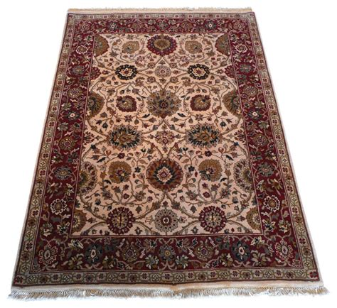 5x6 rug 5x6 11 agra rug traditional area rugs by rug galaxy