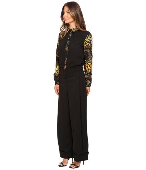 Versace Jumpsuit versace sleeve jumpsuit zappos free