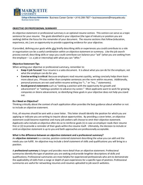 objective statement for resume sle 2018 resume objective exles fillable printable pdf