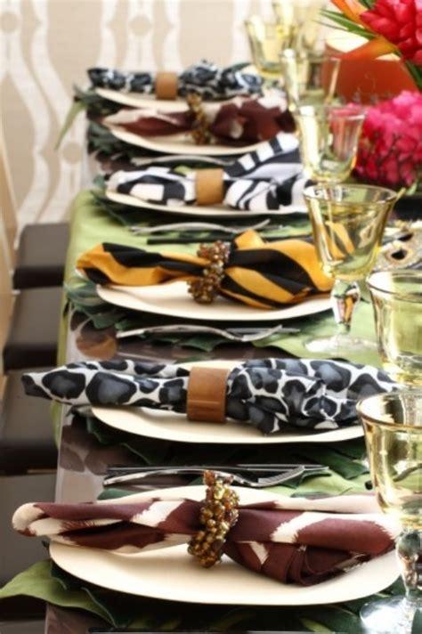 picture of safari inspired wedding ideas