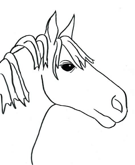 easy pony coloring pages easy coloring page coloring home