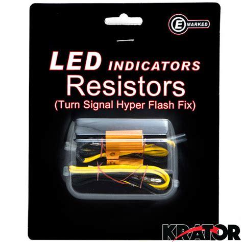 turn signal fix resistor 2x 8ohm 25w led load resistors turn signal blinkers fog lights fix hyper flash ebay