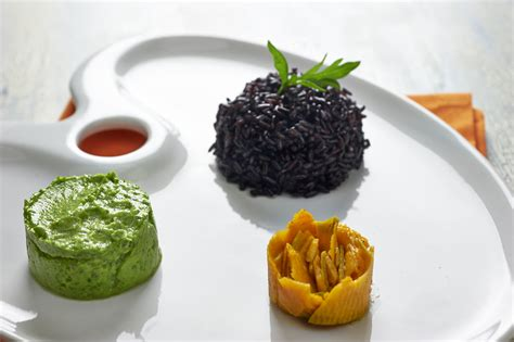 come cucinare il riso nero la ricetta riso nero con zucca marinata bigodino