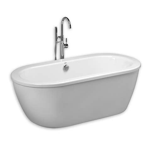 american standard acrylic bathtubs american standard 2764 014m202 011 cadet 66 x 32 inch acrylic freestanding bathtub in